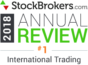 Interactive Brokers reviews: 2018 Stockbrokers.com Awards - rated #1 in 2018 for International Trading